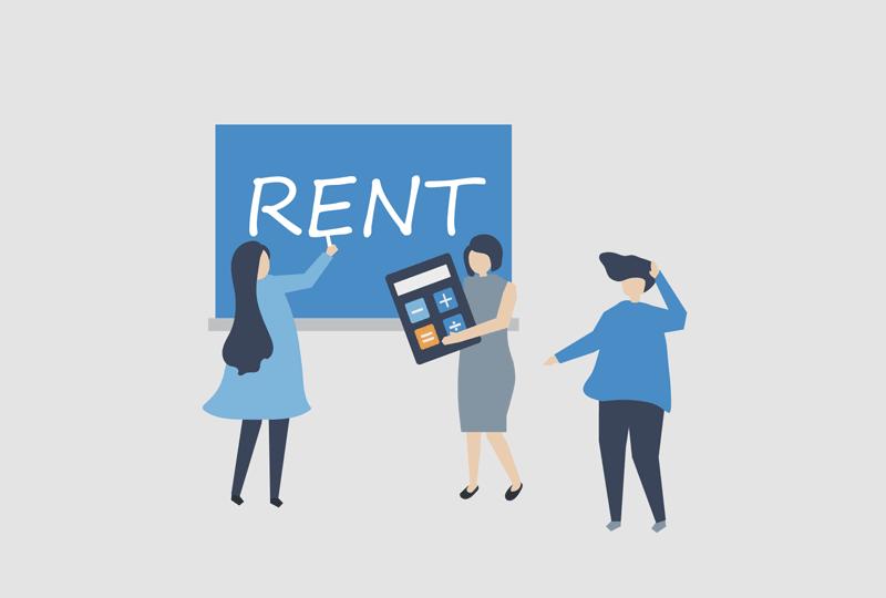 student housing rental
