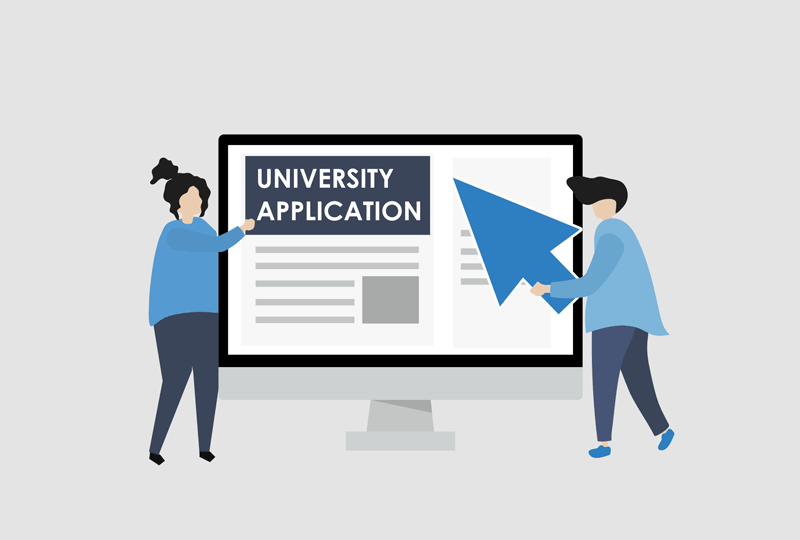 Apply to university courses online
